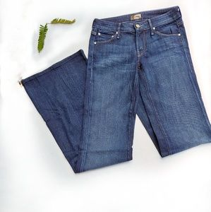 MOTHER Love Potion Wide Leg Flare Jeans